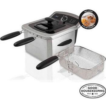 Farberware-4L-Dual-Deep-Fryer