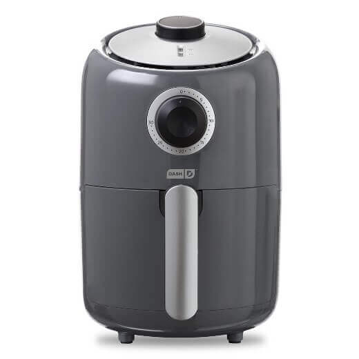 Overview of Dash Compact 900w 1.2 l Single Basket Compact Air Fryer Aqua