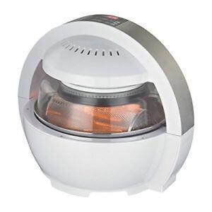 Nutrichef 6 in 1 Digital Air Fryer Halogen Oven Multi Cooker
