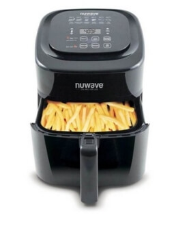 NuWave Air Fryer Brio 6qt Blk