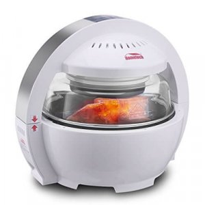 Hometech Patented 1200W 13L Spaceship Air Fryer Deep Fryer review
