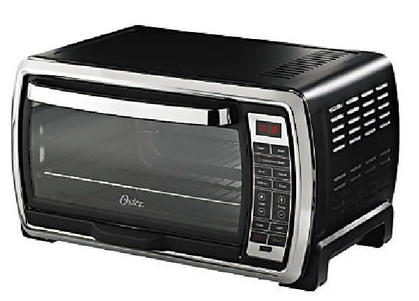 Oster Large Digital Countertop Convection Toaster Oven, 6 Slice