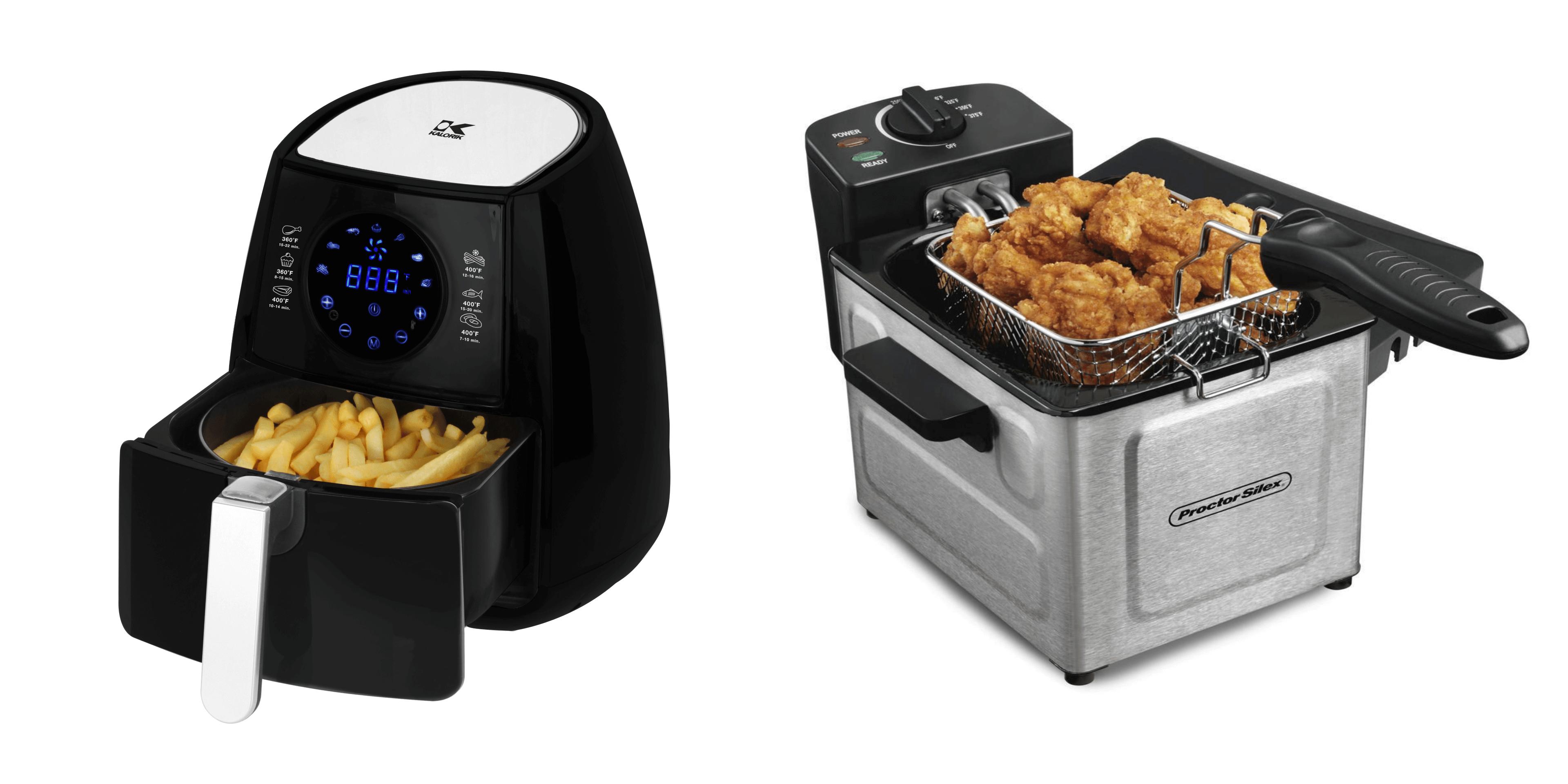 Best Air Fryer Vs Best Deep Fryer October 2019